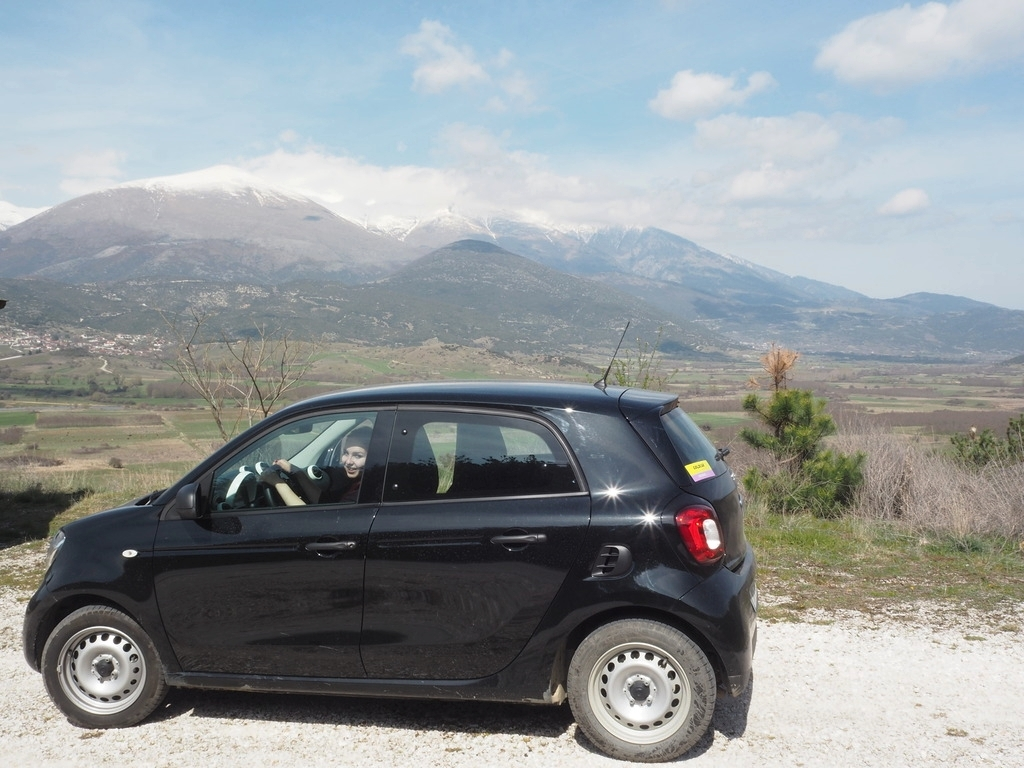 Driving in Greece